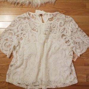 Nanette Lepore Lace Top
